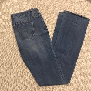 Curvy Bootcut Jeans size 4L for 5'7 and taller